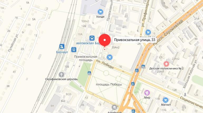 888.ru - г. Барнаул, Ул. Привокзальная, д. 33