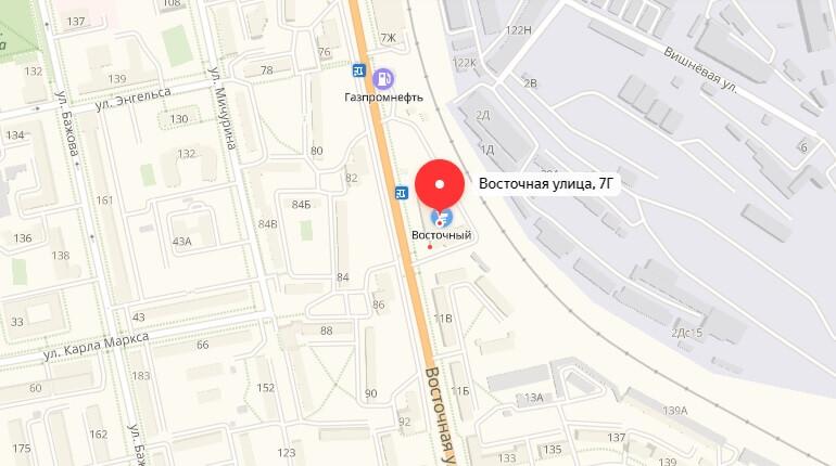888.ru - г. Екатеринбург, Ул. Восточная, д. 7 Г.