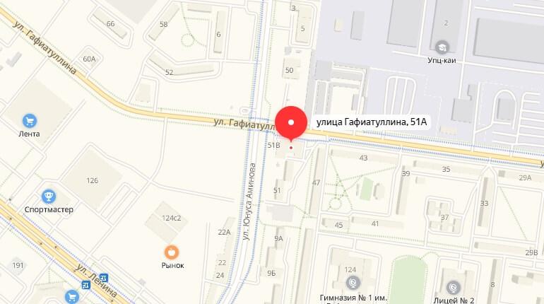 """БК """"Зенит"""" - г. Альметьевск, Ул. Гафиатуллина, д. 51 А"""