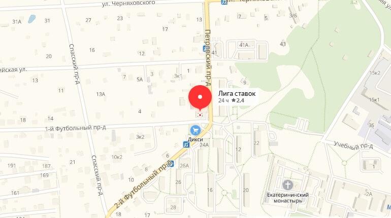 Лига Ставко - г. Видное, 1-й Футбольный проезд, д. 2 Б
