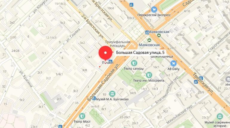 """БК """"888.ru"""" - г. Москва, Ул. Большая Садовая, д. 5"""