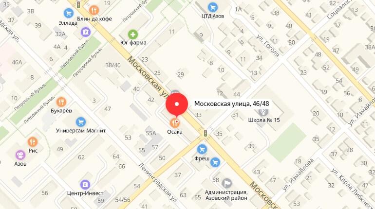 "БК ""Бинго Бум"" - г. Азов, Ул. Московская, д. 46/48"