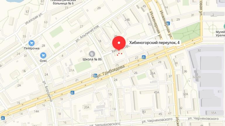 Переулок Хибиногорский, д. 4.