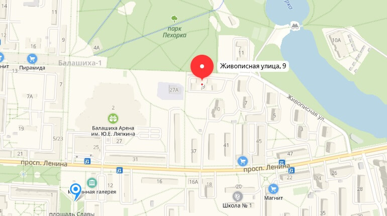 "БК ""Зенит"" - г. Балашиха, Ул. Живописная, д. 9"