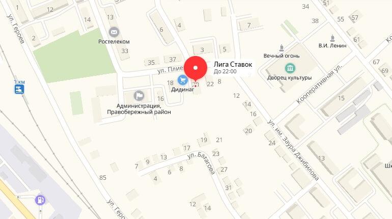 Ул. Плиева, д. 20 А