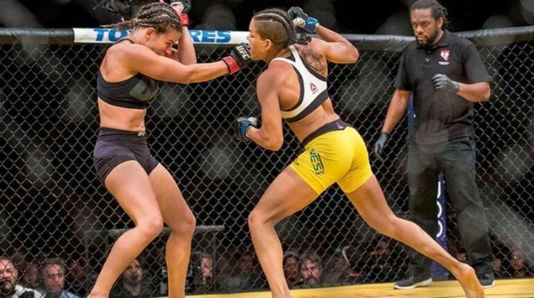 Женский бой в UFC