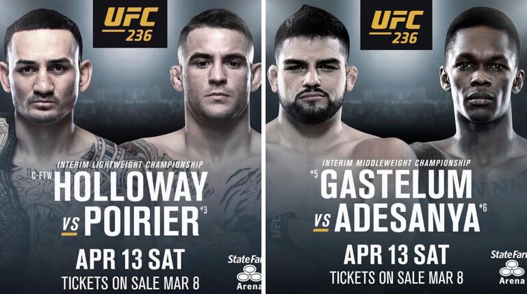 Анонс турнира UFC 236