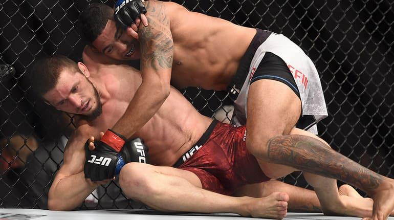 Боец UFC Гриффин назвал россиянина Имадаева «идиотом»