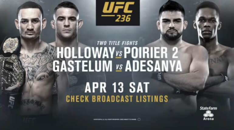 Обзор турнира UFC 236 с 13 на 14 апреля 2019 г.