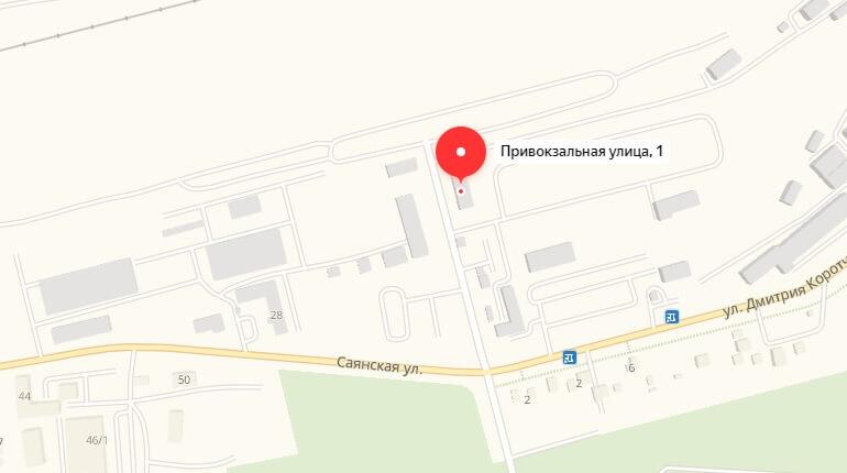 Ул. Привокзальная, д. 1