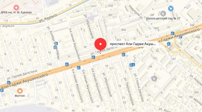 Проспект Акушинского, д. 32 В