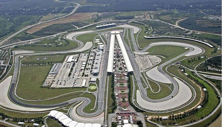 Трасса Формулы-1 Сепанг