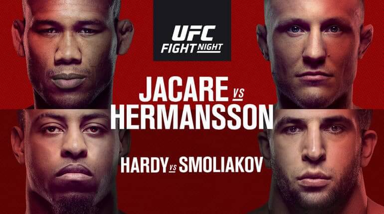 Анонс на турнир UFC Fight Night 150. 27-28.04.2019