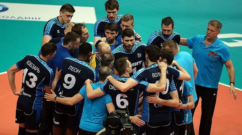 Волейбольная команда Зенит