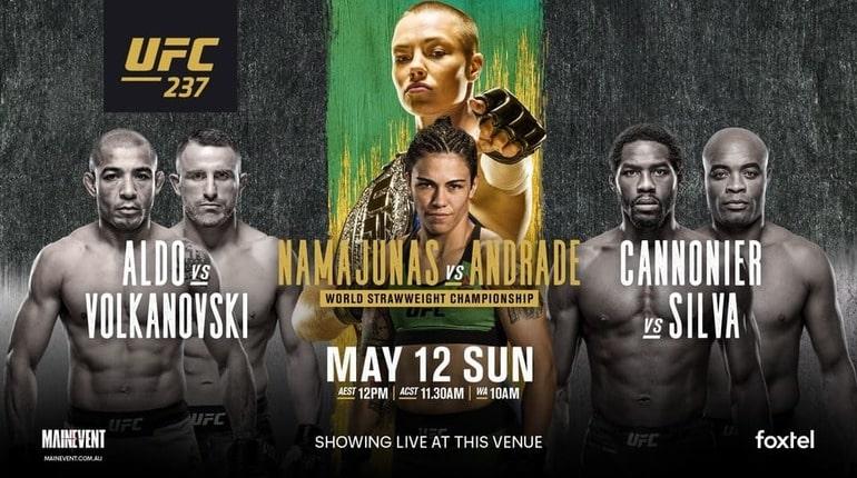 Анонс турнира UFC 237