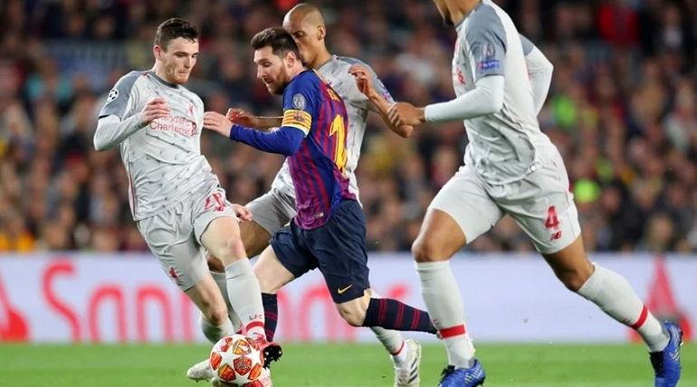 Ливерпуль оказался бессилен против Барселоны