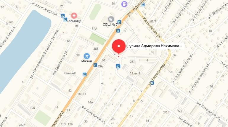 Ул. Адмирала Нахимова, д. 93 Б
