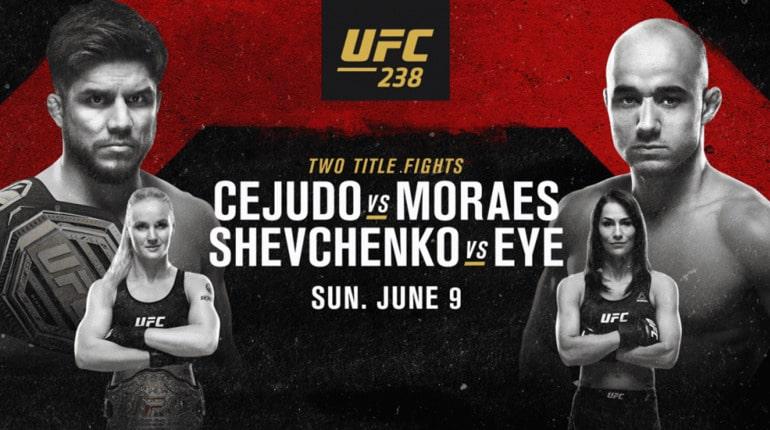 Анонс турнира UFC 238
