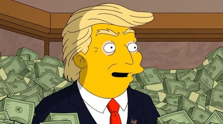 Дональд Трамп в деньгах