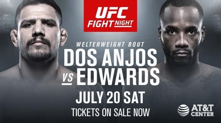 Анонс турнира UFC on ESPN 4