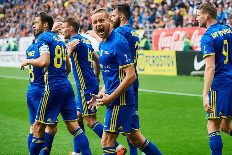 Футбольная команда Ростов