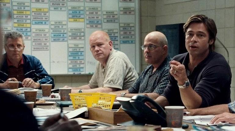 Кадр из фильма Moneyball