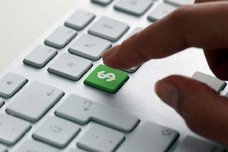 Кнопка доллар на клавиатуре