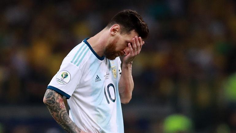 Месси проиграл сборной Бразилии