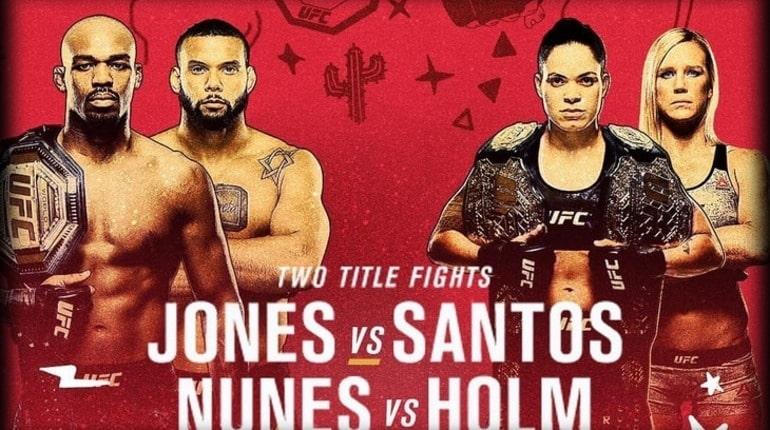 Обзор турнира UFC 239