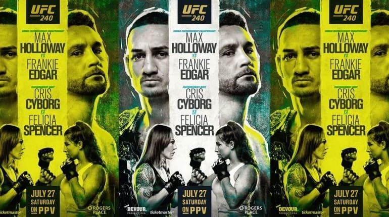 Обзор турнира UFC 240
