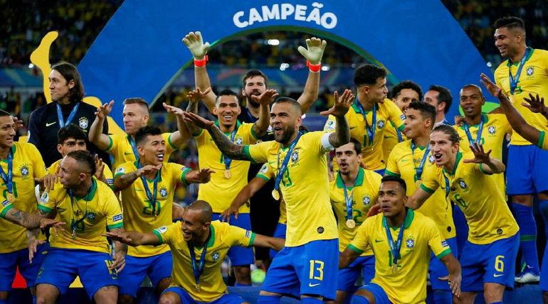 Бразилия выиграла Кубок Америки
