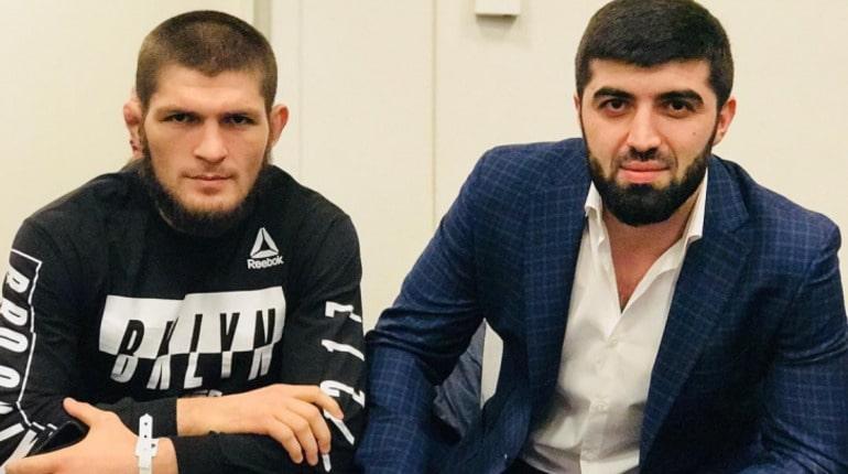 Хабиб и его менеджер