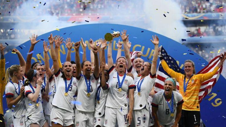 США – чемпион мира среди женщин
