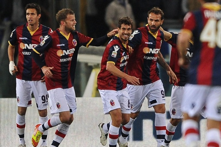 Футбольная команда Болонья