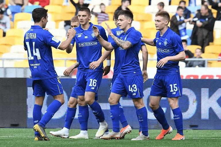 Футбольная команда Динамо Киев