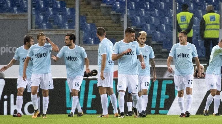 Футбольная команда Лацио