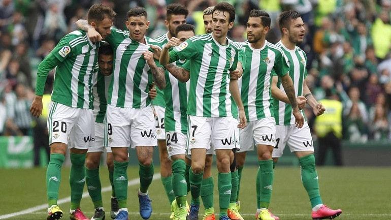 Футбольная команда Реал Бетис