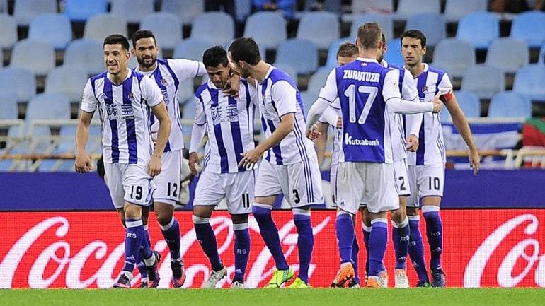 Футбольная команда Реал Сосьедад