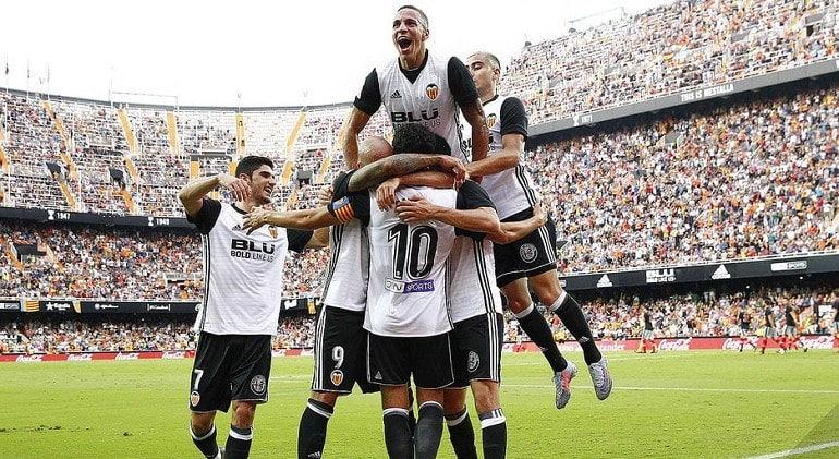 Футбольная команда Валенсия