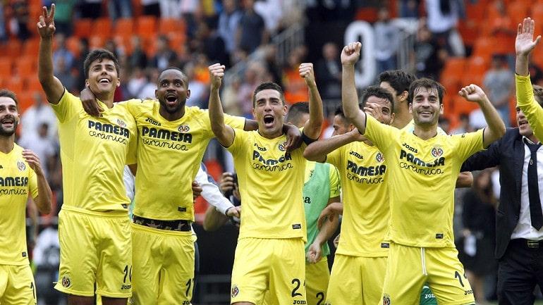 Футбольная команда Вильярреал