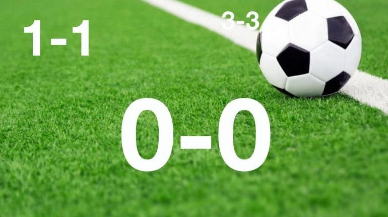 Ничья в футболе