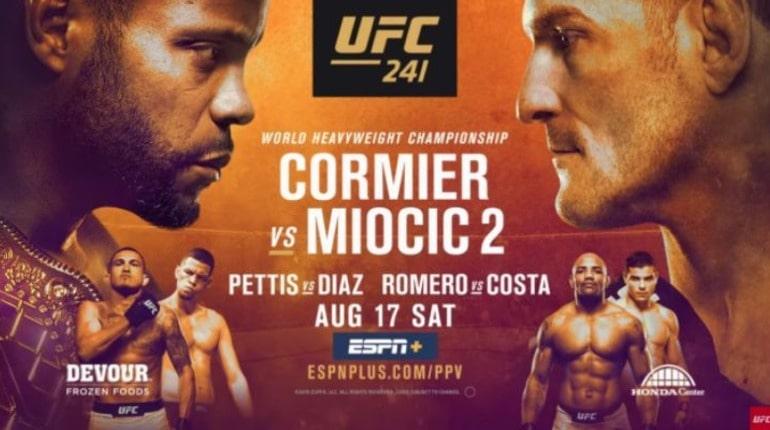 Обзор турнира UFC 241