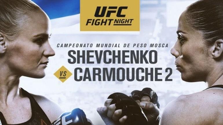 Обзор турнира UFC Fignt Night 156