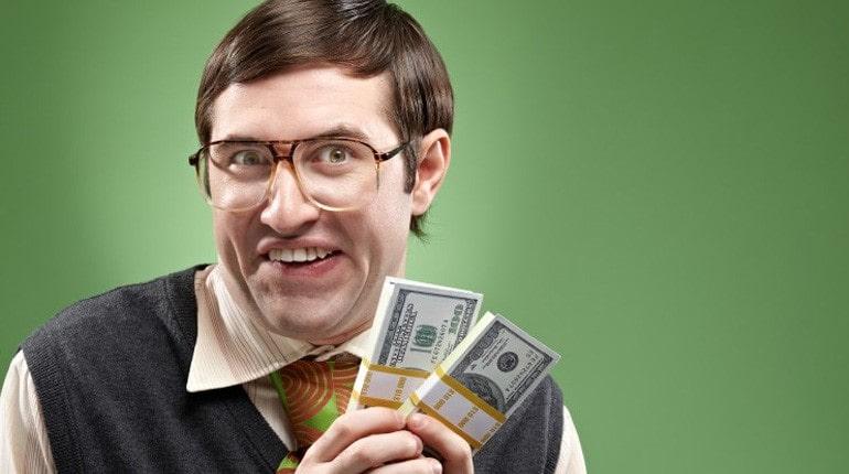 Парень с деньгами