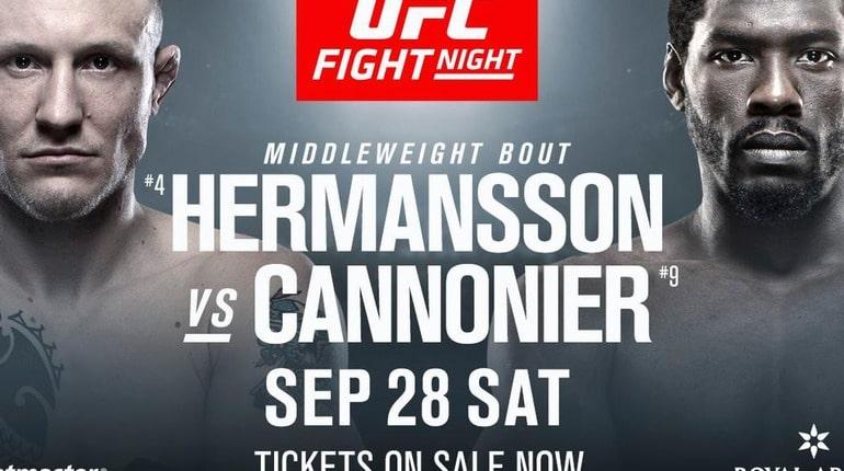 Анонс турнира UFC Fight Night 160