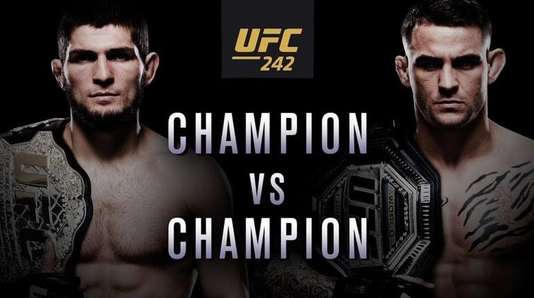 Анонс турнира UFC 242