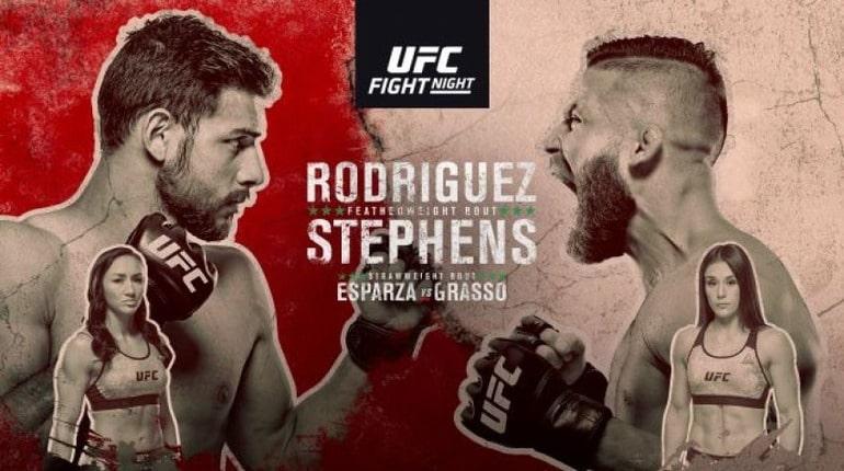 Анонс турнира UFC Fight Night 159. 22.09.2019. Мехико (Мексика)