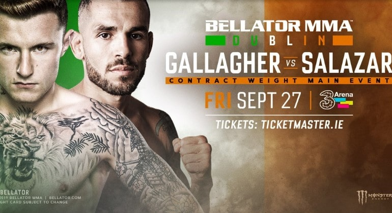 Bellator в Дублине