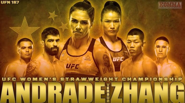 Обзор турнира UFC Fight Night 157