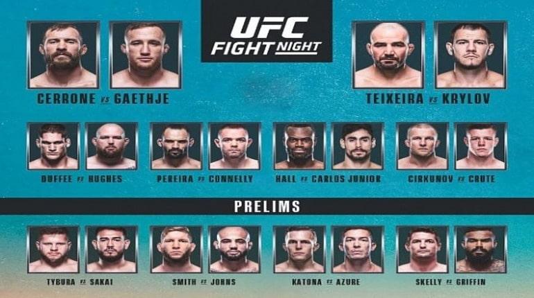 Обзор турнира UFC Fight Night 158